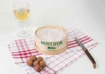Mont d'Or de la fromagerie Monnin à Chantrans dans le Doubs