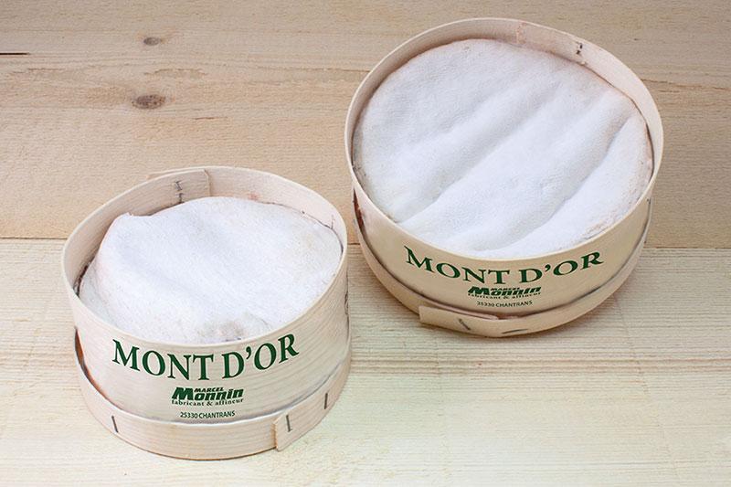 Le Mont d'Or de la fromagerie Monnin à Chantrans dans le Doubs